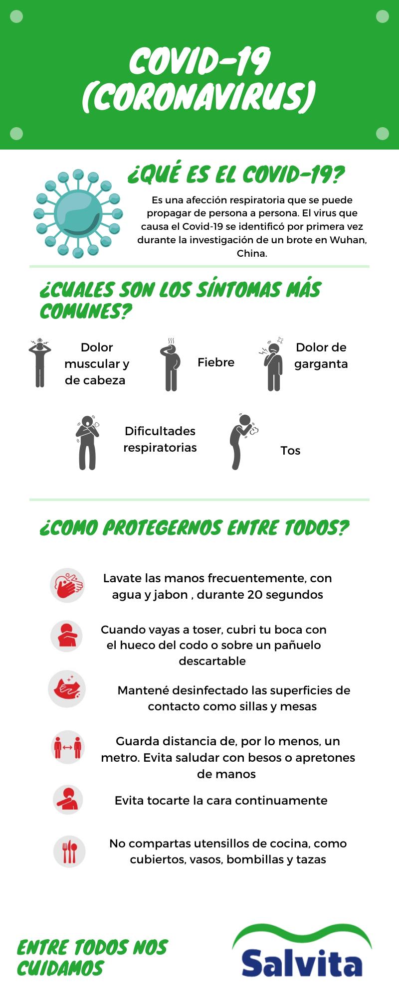 Salvita Alimentos • COVID-19 (coronavirus)